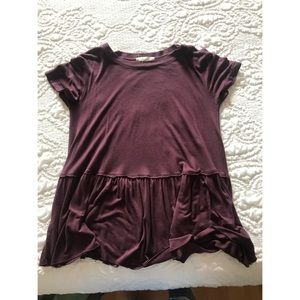 Urban outfitters burgundy top